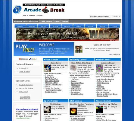 Product picture Turnkey Arcade Website Script With Over 3,400 Games
